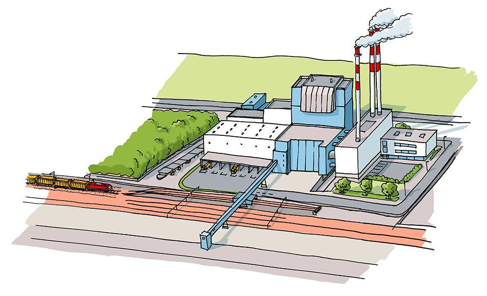 Das kontaminierte Bodenmaterial wird in gasdichten, fest verschlossenen Containern per Bahn zur thermischen Entsorgung in eigens dafür vorgesehenen Verbrennungsanlagen transportiert.