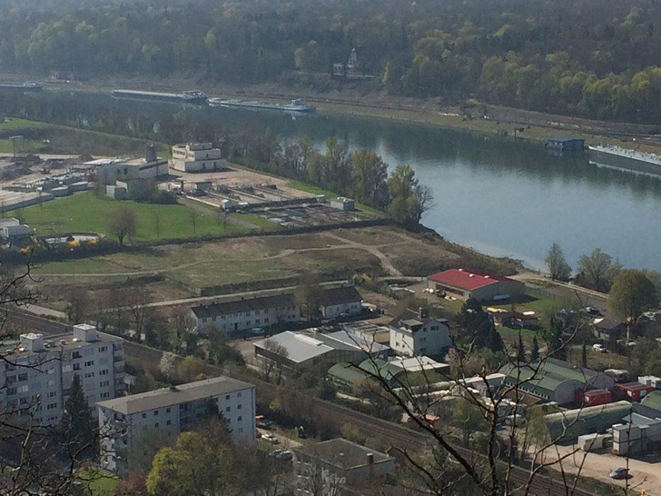 Blick vom Hornfelsen auf den Perimeter 1 (Datum der Aufnahme: März 2014), Quelle: Pressefoto Roche