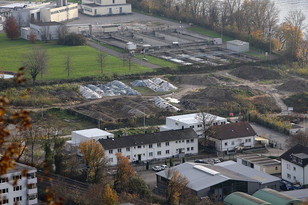 Blick vom Hornfelsen auf den Perimeter 1 (Datum der Aufnahme: November 2014), Quelle: Pressefoto Roche