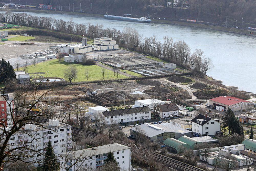 Blick auf den Perimeter 1 der Kesslergrube Mitte Januar 2015 (Aufnahmedatum: Januar 2015), Quelle: Pressefoto Roche